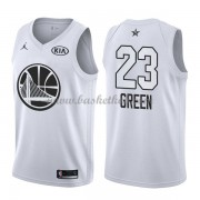 Golden State Warriors Draymond Green 23# Hvid 2018 All Star Game Swingman Basketball Trøjer..