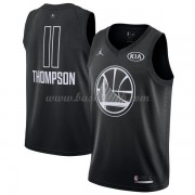 Golden State Warriors Klay Thompson 11# Sort 2018 All Star Game Swingman Basketball Trøjer..