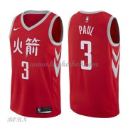 NBA Basketball Trøje Børn Houston Rockets 2018 Chris Paul 3# City Edition..