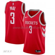 NBA Basketball Trøje Børn Houston Rockets 2018 Chris Paul 3# Icon Edition..