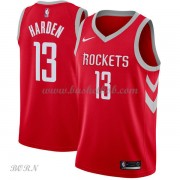NBA Basketball Trøje Børn Houston Rockets 2018 James Harden 13# Icon Edition..