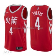 NBA Basketball Trøje Børn Houston Rockets 2018 P.J. Tucker 2# City Edition..