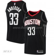 NBA Basketball Trøje Børn Houston Rockets 2018 Ryan Anderson 33# Statement Edition..