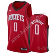 Billige Basketball Trøje Børn Houston Rockets 2019-20 Russell Westbrook 0# Rød Icon Edition Swingman..