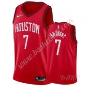 Billige Basketball Trøje Børn Houston Rockets 2019-20 Carmelo Anthony 7# Rød Earned Edition Swingman..