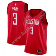 Houston Rockets Basketball Trøjer NBA 2019-20 Chris Paul 3# Rød Earned Edition Swingman..