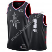 Houston Rockets 2019 Chris Paul 3# Sort All Star Game Swingman Basketball Trøjer..