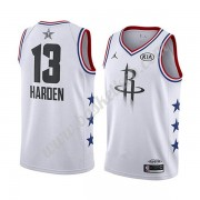 Houston Rockets 2019 James Harden 13# Hvid All Star Game Swingman Basketball Trøjer..