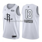 Houston Rockets James Harden 13# Hvid 2018 All Star Game Swingman Basketball Trøjer..