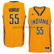 Indiana Pacers Basketball Trøjer 2015-16 Roy Hibbert 55# Alternate..