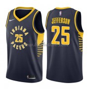 Indiana Pacers Basketball Trøjer 2018 Al Jefferson 25# Icon Edition..