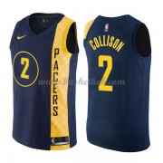 Indiana Pacers Basketball Trøjer 2018 Darren Collison 2# City Edition..