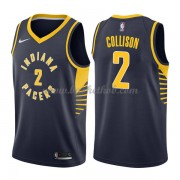 Indiana Pacers Basketball Trøjer 2018 Darren Collison 2# Icon Edition..