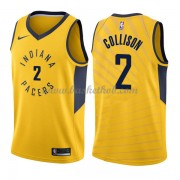 Indiana Pacers Basketball Trøjer 2018 Darren Collison 2# Statement Edition..