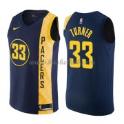 Indiana Pacers Basketball Trøjer 2018 Myles Turner 33# City Edition..