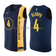 Indiana Pacers Basketball Trøjer 2018 Victor Oladipo 4# City Edition..