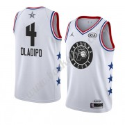 Indiana Pacers 2019 Victor Oladipo 4# Hvid All Star Game Swingman Basketball Trøjer..