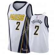 Indiana Pacers Basketball Trøjer NBA 2019-20 Darren Collison 2# Hvid Earned Edition Swingman..
