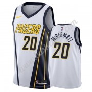 Indiana Pacers Basketball Trøjer NBA 2019-20 Doug McDermott 20# Hvid Earned Edition Swingman..