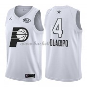 Indiana Pacers Victor Oladipo 4# Hvid 2018 All Star Game Swingman Basketball Trøjer..