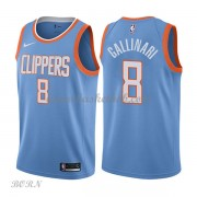 NBA Basketball Trøje Børn Los Angeles Clippers 2018 Danilo Gallinari 8# City Edition..