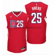 Los Angeles Clippers Basketball Trøjer 2015-16 Austin Rivers 25# Road..