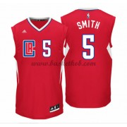 Los Angeles Clippers Basketball Trøjer 2015-16 Josh Smith 5# Road..