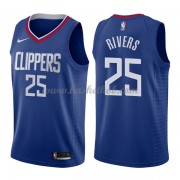 Los Angeles Clippers Basketball Trøjer 2018 Austin Rivers 25# Icon Edition..
