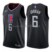 Los Angeles Clippers Basketball Trøjer 2018 Deandre Jordan 6# Statement Edition..