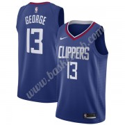 Los Angeles Clippers Basketball Trøjer NBA 2019-20 Paul George 13# Blå Icon Edition Swingman..