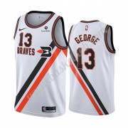 Los Angeles Clippers Basketball Trøjer NBA 2019-20 Paul George 13# Hvid Classics Edition Swingman..