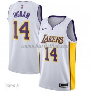 NBA Basketball Trøje Børn Los Angeles Lakers 2018 Brandon Ingram 14# Association Edition..