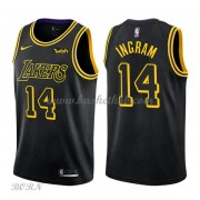 NBA Basketball Trøje Børn Los Angeles Lakers 2018 Brandon Ingram 14# City Edition..