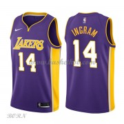 NBA Basketball Trøje Børn Los Angeles Lakers 2018 Brandon Ingram 14# Statement Edition..
