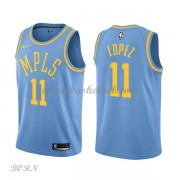 NBA Basketball Trøje Børn Los Angeles Lakers 2018 Brook Lopez 11# Light Blue Hardwood Classics..