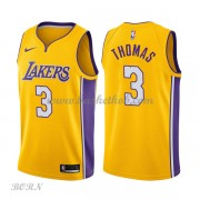 NBA Basketball Trøje Børn Los Angeles Lakers 2018 Isaiah Thomas 3# Icon Edition..