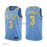 NBA Basketball Trøje Børn Los Angeles Lakers 2018 Isaiah Thomas 3# Light Blue Hardwood Classics..