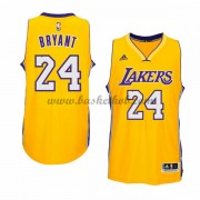 Los Angeles Lakers Basketball Trøjer 2015-16 Kobe Bryant 24# Gold Home..