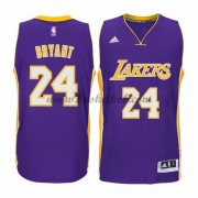 Los Angeles Lakers Basketball Trøjer 2015-16 Kobe Bryant 24# Road..