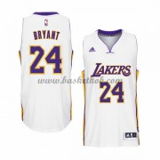 Los Angeles Lakers Basketball Trøjer 2015-16 Kobe Bryant 24# Hvid Home