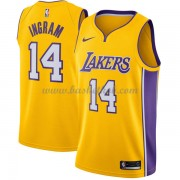 Los Angeles Lakers Basketball Trøjer 2018 Brandon Ingram 14# Icon Edition..