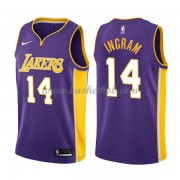 Los Angeles Lakers Basketball Trøjer 2018 Brandon Ingram 14# Statement Edition..
