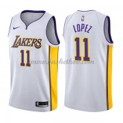 Los Angeles Lakers Basketball Trøjer 2018 Brook Lopez 11# Association Edition..