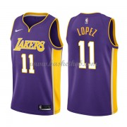 Los Angeles Lakers Basketball Trøjer 2018 Brook Lopez 11# Statement Edition..