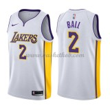 Los Angeles Lakers Basketball Trøjer 2018 Lonzo Ball 2# Association Edition
