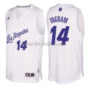 Los Angeles Lakers 2016 Brandon Ingram 14# Jul NBA Basketball Trøjer..
