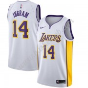 Los Angeles Lakers Basketball Trøjer NBA 2019-20 Brandon Ingram 14# Hvid Association Edition Swingma..