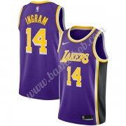 Los Angeles Lakers Basketball Trøjer NBA 2019-20 Brandon Ingram 14# Lilla Statement Edition Swingman..