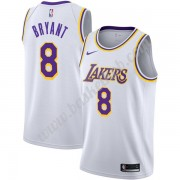 Los Angeles Lakers Basketball Trøjer NBA 2019-20 Kobe Bryant 8# Hvid Association Edition Swingman..