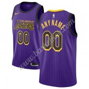 Los Angeles Lakers Basketball Trøjer NBA 2019-20 Lilla City Edition Swingman